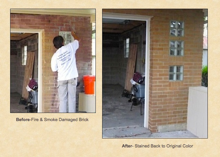 Brick-damaged-from-fire-before-and-brick-stained-to-match-the-original-colors.