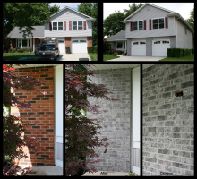 Hoffman Estates Makeover Staining Project 1