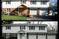 Arlington Heights Brick Staining Transformation Project 1